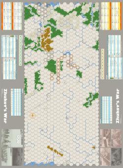 ジューコフの戦争 マップ